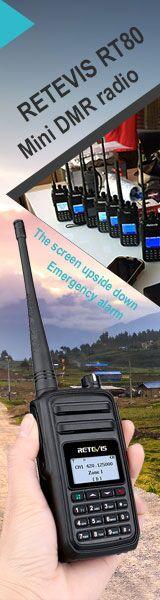 Retevis RT80 UHF DMR